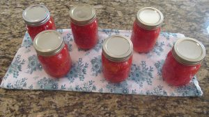 Canning 101, jars, cooling
