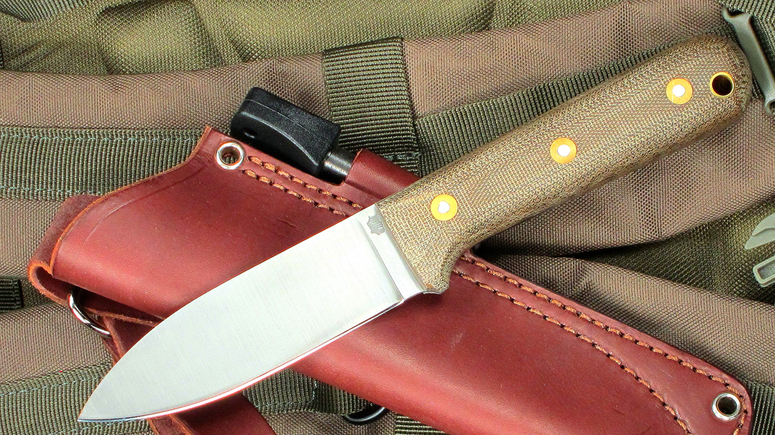 Kephart Comback: LT Wright Genesis, gray finish, A2 steel, micarta