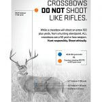 Long-Range Crossbow Shooting, Hunting Ethics, graphic