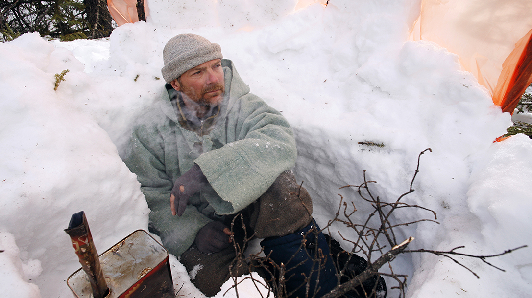 Survivorman, Les Stroud, Arctic, snow