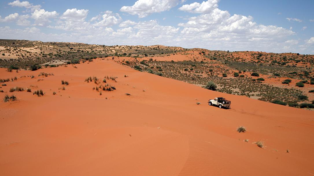 Survivorman, Les Stroud, Kalahari desert