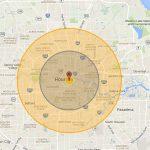 nuke map, map, houston