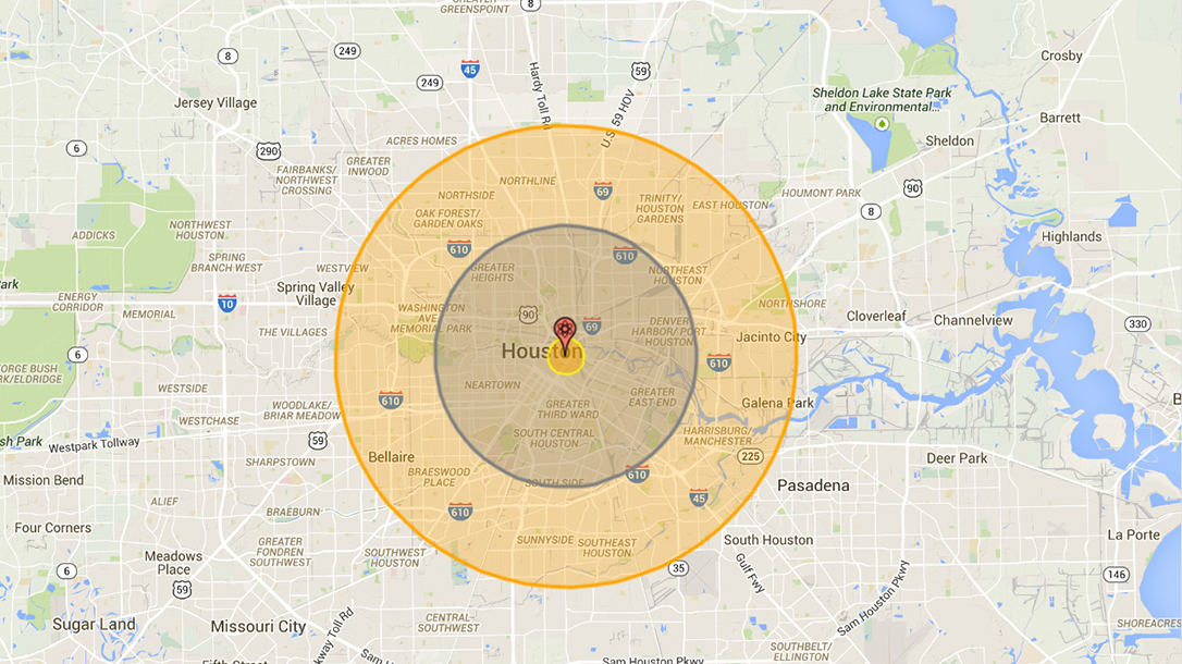 Nuke Map How Would Different Nuclear Explosions Affect The Us - Nuclear-map-us