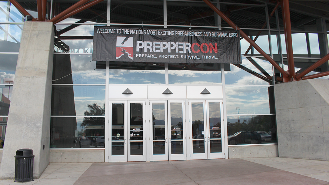PrepperCon 2018, front doors, convention center