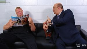 Brock Lesnar, Paul Heyman, American Frontiersman magazine, RAW