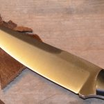 Donnybrook knife, leather