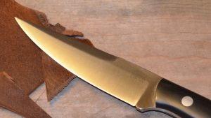 Donnybrook knife, leather
