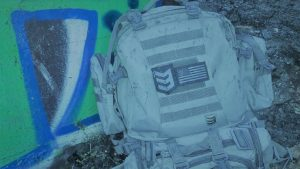 backpack, gear