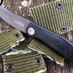 Kershaw Concierge knife, belt cut