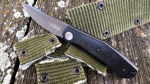 Kershaw Concierge knife, belt cut