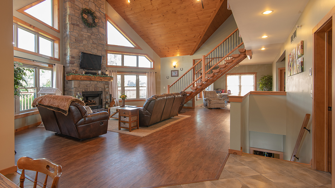 Energy Efficient Home, the great room
