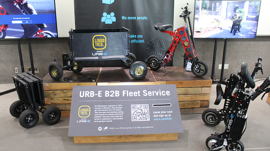 URB-E Foldable Electric Bikes