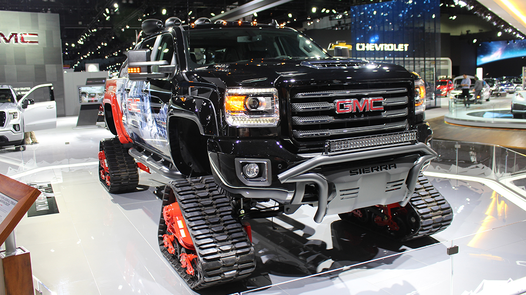 GMC Sierra Ski Vehicle