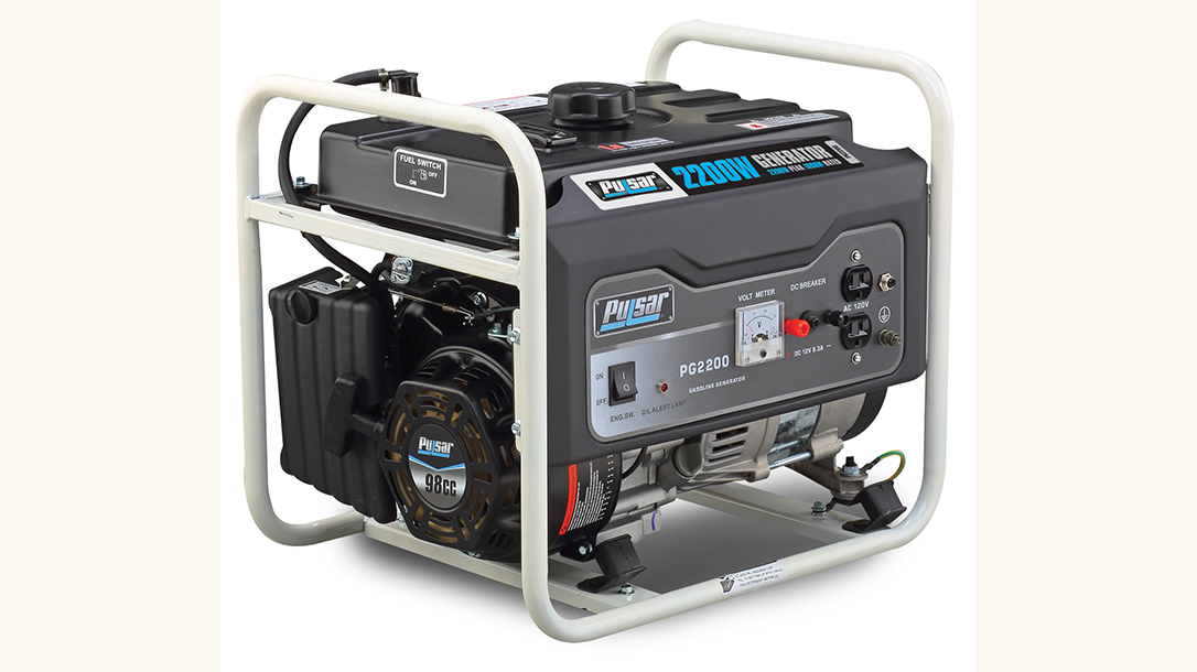 Pulsar 2200W Gasoline Generator