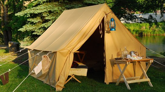 canvas tent, wall tent
