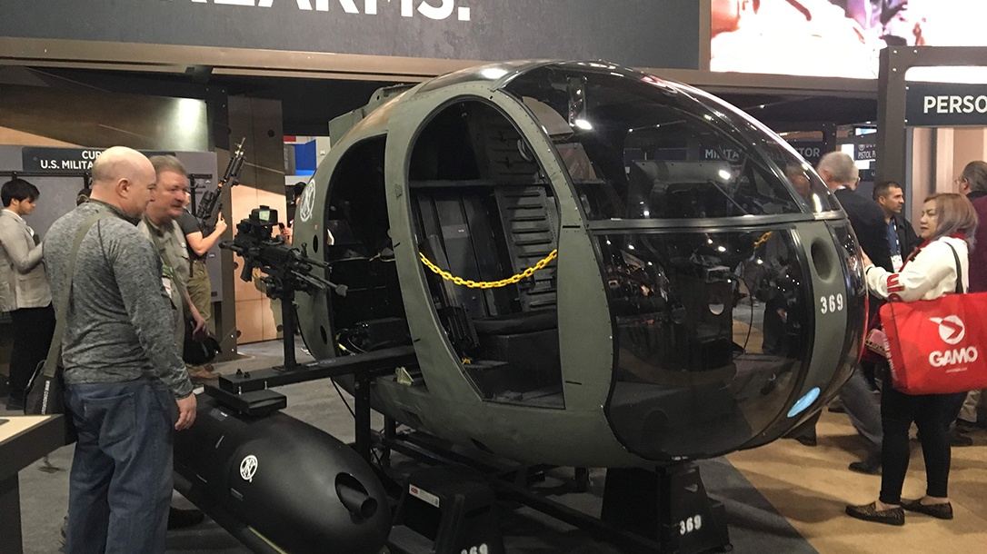 SHOT Show 2019 - helicopter