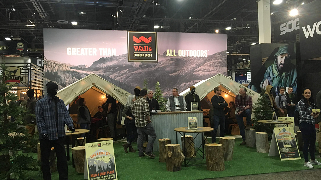 SHOT Show 2019 - canvas wall tents