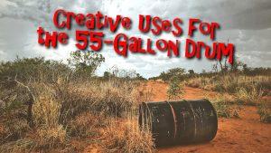 55-Gallon Drum, desert