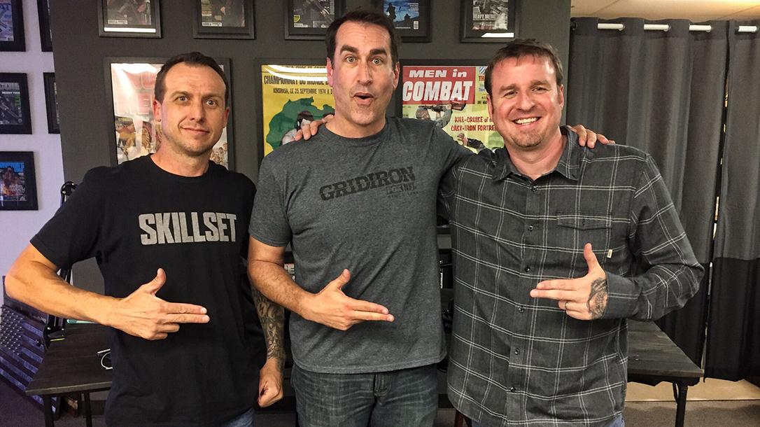 Jason Swarr, Ben Tirpak, Athlon Outdoors, Rob Riggle guns