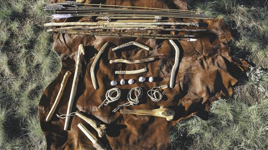 Primitive Weapons, clubs, spears, sticks