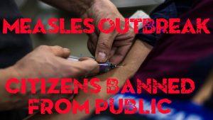 Measles emergency, needle, vaccine