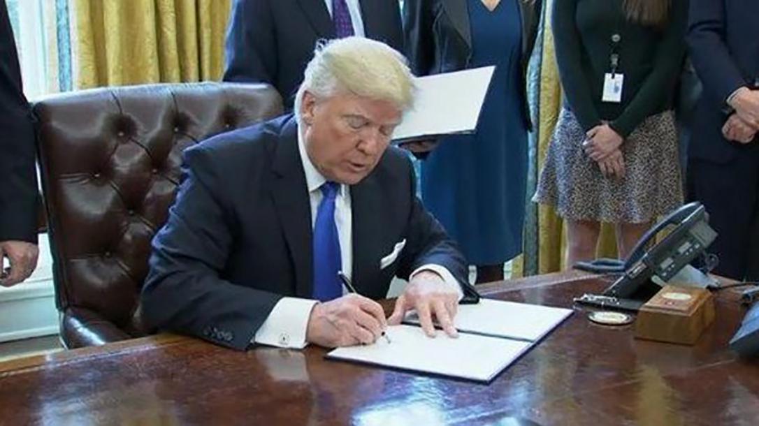Trump signing bill
