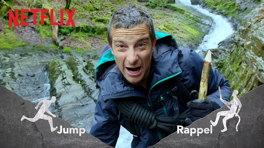 Bear Grylls in You Vs. Wild