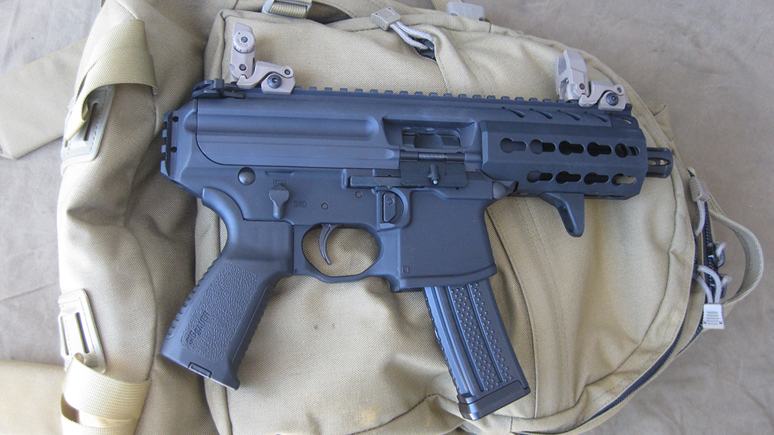 bug out guns, backpack, SIG MPX