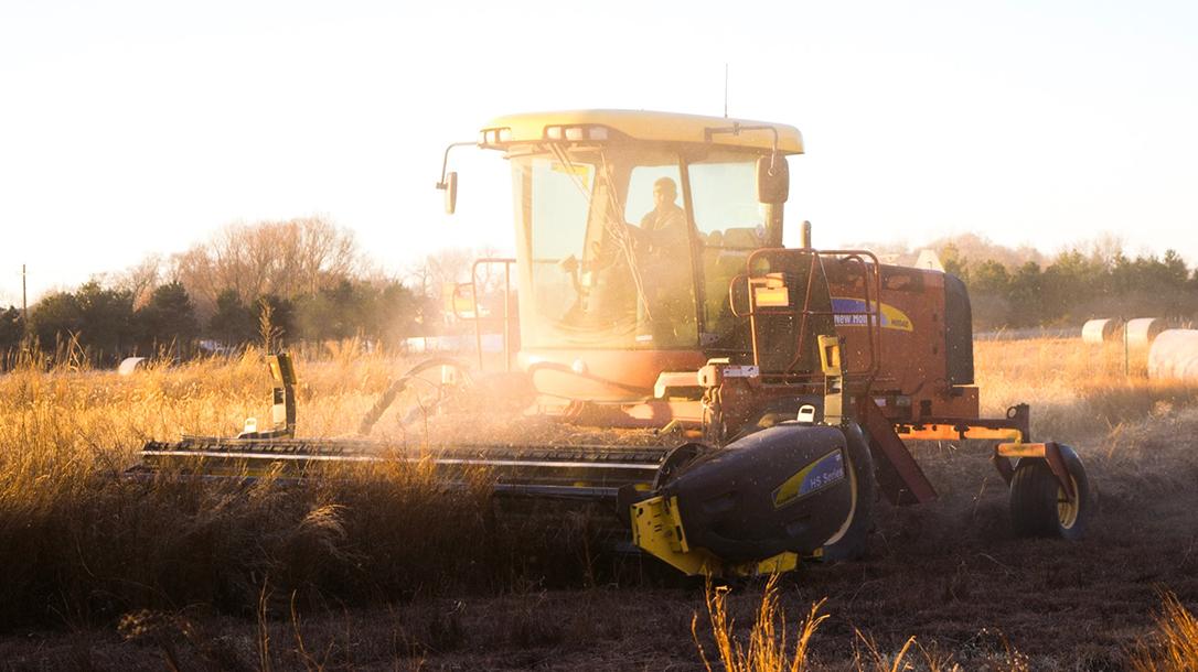 Combine Harvester, corn, farm