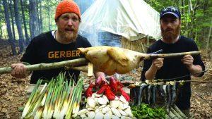 Bushcraft, wild foods, cooking