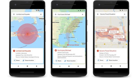 Google Maps, app, phones