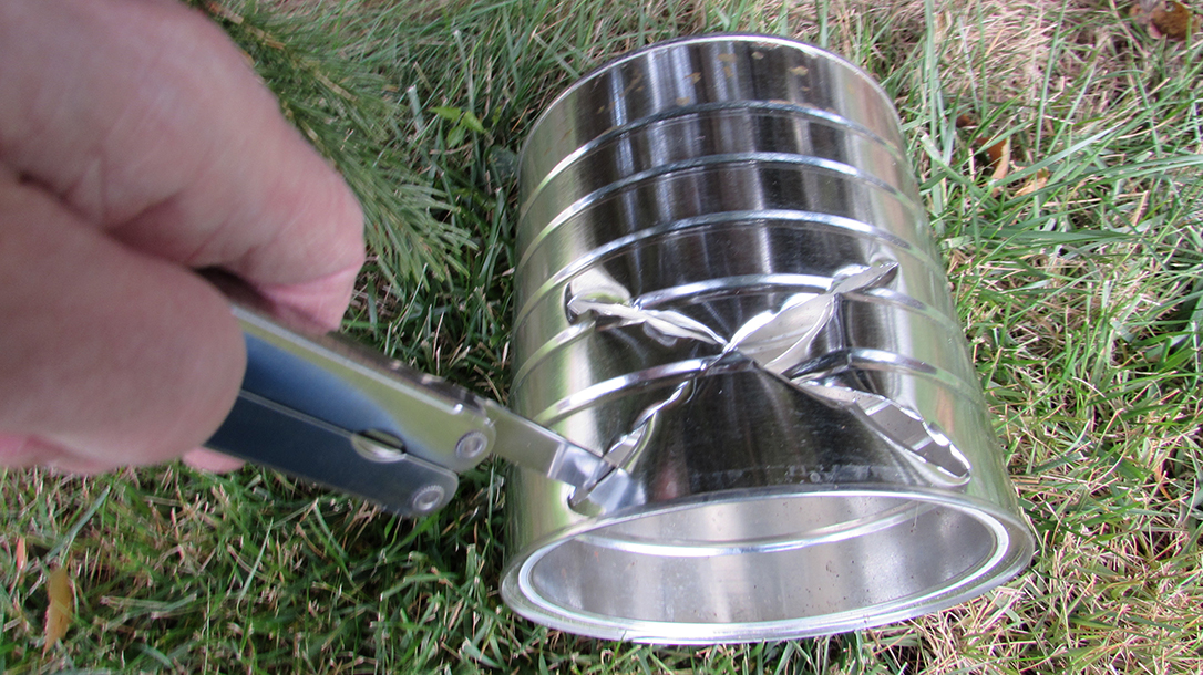 Hobo Stove, grass, multitool