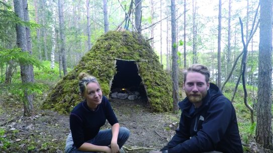 bushcraft shelter, forest, most, wickiup