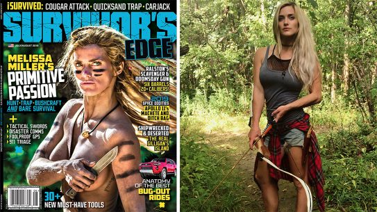 Melissa Miller, Survivor's Edge cover