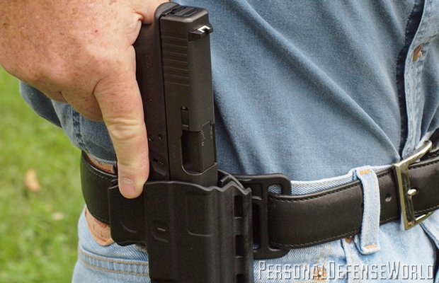 Uncle Mike's Kydex Reflex Holster
