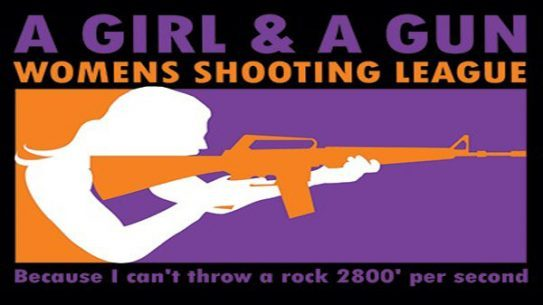A Girl and A Gun, Women's Shooting League, Women Gun Owners
