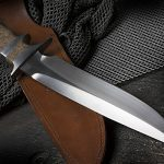 Therion Subhilt Fighter blade up with sheath