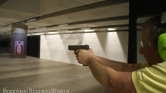 GLOCK AT THE RANGE on the line