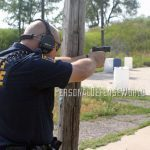 SNEAK PEEK- Smith & Wesson M&P45C in action