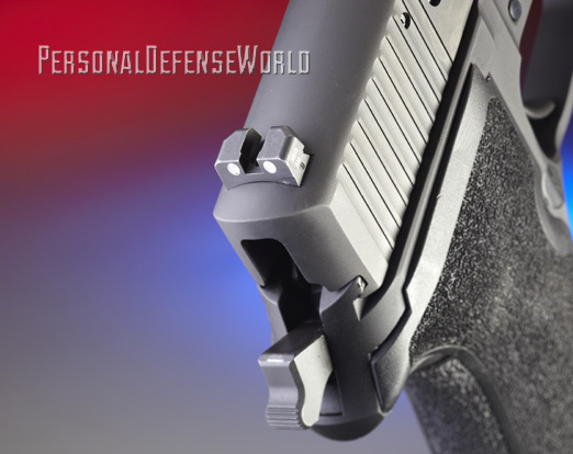 Sig Sauer P227 Nitron Rear Sight