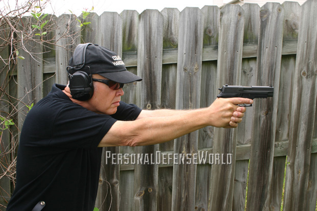 Sig Sauer P227 Nitron in action