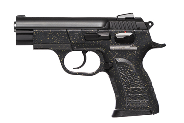The Witness PAVONA Polymer Pistol - Black
