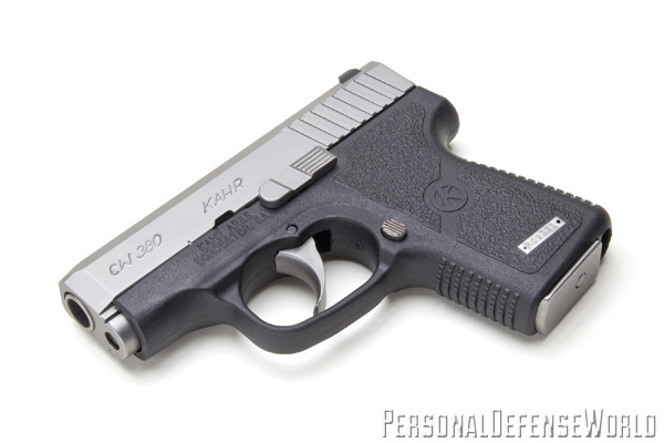 TOP 12 CONCEALED CARRY HANDGUNS - Kahr CW380 Left Bottom