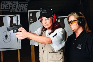 Female officers are finding GLOCK guns simply fit their needs better. A contoured fit allows for a better site picture, less recoil and higher performance rates at the range. All of these benefits build self confidence which is a tool every cop needs, every day.