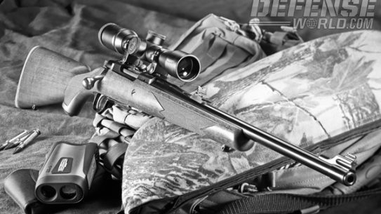 The Ruger M77 Compact Magnum is a general-purpose bolt action with iron sights and .308 punch!