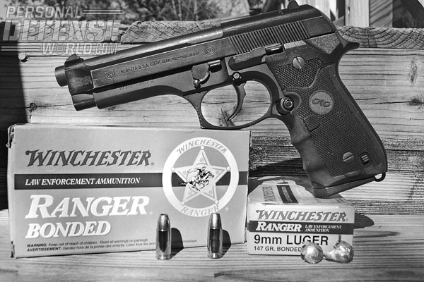 Improvements in bullet technology have improved the capabilities of the 9mm cartridge. Winchester Bonded Ranger JHPs are a good example of a design that could breech barriers and still deliver good performance.