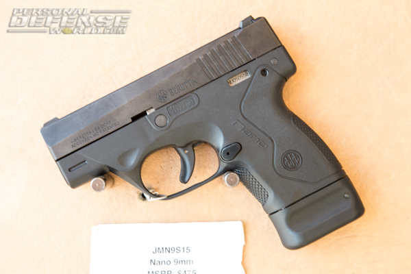 Beretta Nano 9mm | Concealed Carry