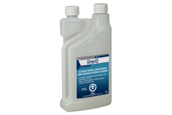 Gunslick Pro's Ultrasonic Weapons Cleaning Solution