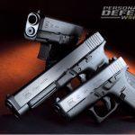 Glock 30S, Glock 41 Gen4 and Glock 42