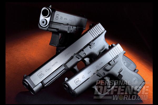 New Glock 41 Gen4, Glock 2, & Glock 30S